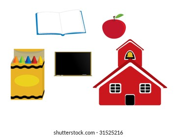 School graphics - vector