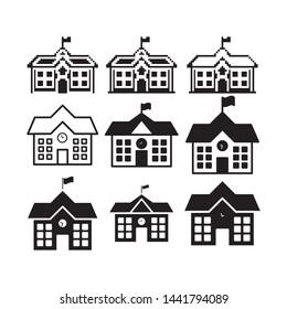school icon vector design template