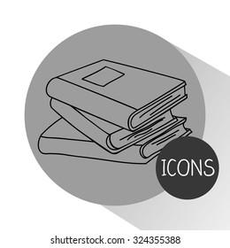 school icons design, vector illustration eps10 graphic