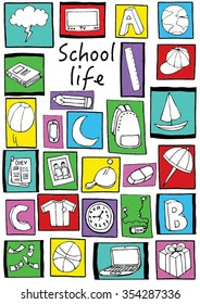 School Life Background