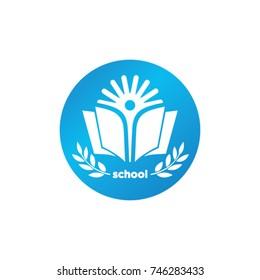 School logo design template.