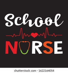 SCHOOL NURSE T-SHIRT.NURSING T-SHIRT DESIGN.