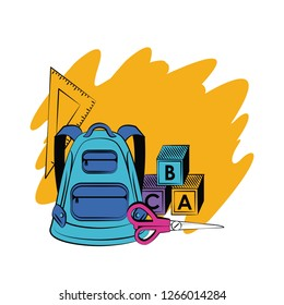 School supplies and elements