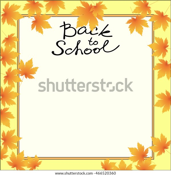 School Template Invitation Card Blank Vector Backgrounds