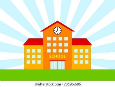 School vector icon