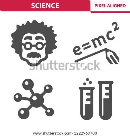 Science Icons Professional pixel