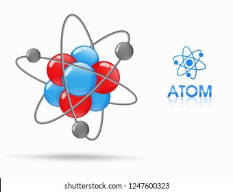 The science of molecular studies of atoms consists of protons, neutrons and electrons. Orbit around