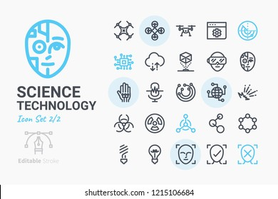 Science & Technology vector icon