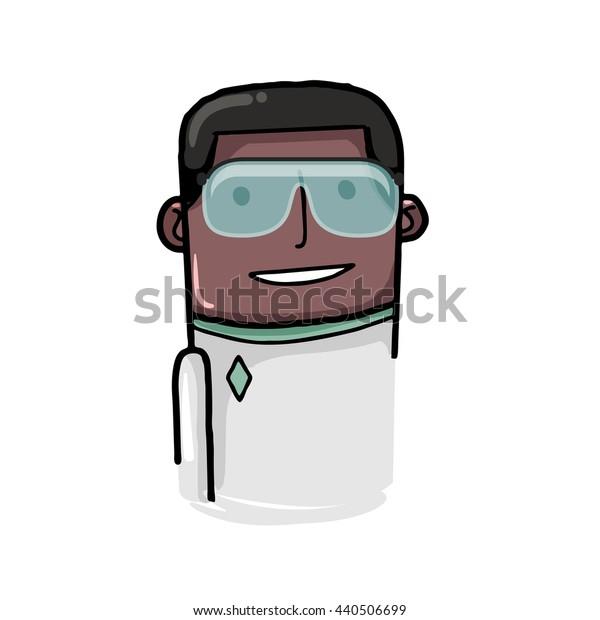 Science vector avatar