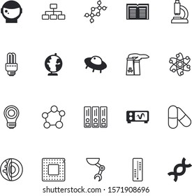 science vector icon set such as: glowing, fitness, invasion, section, tech, molecules, exploration, drugs, processor, unidentified, mechanic, finger, algorithm, pills, vehicle, life, fiction, crust