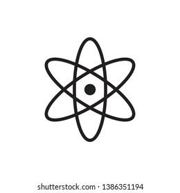 scientific icon vector line style