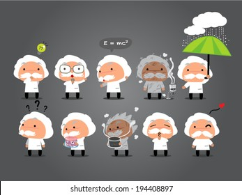 Scientist cartoon  animations