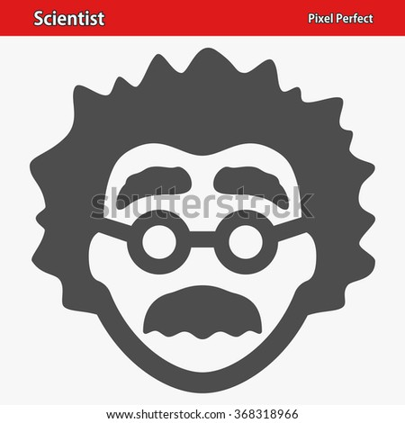 Scientist Icon Professional pixel