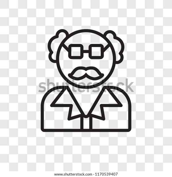 scientist vector icon isolated on transparent stock vector royalty free 1170539407 https www shutterstock com image vector scientist vector icon isolated on transparent 1170539407