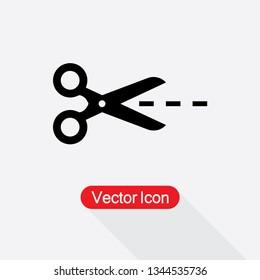 Scissors Icon Vector Illustration Eps10