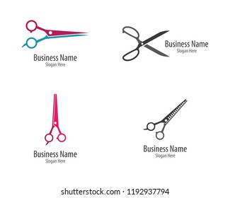 Scissors logo icon