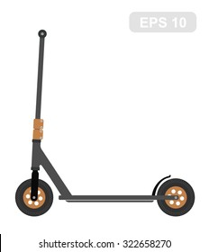 Scooter for extreme in Vector