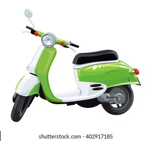 Scooter motorbike.