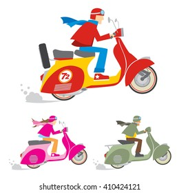 Scooter Riders
