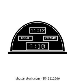 score board flat icon