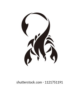 scorpion animals vector logo