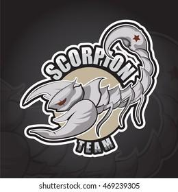 Scorpion logo design