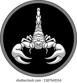 Scorpion Shadow Symbol