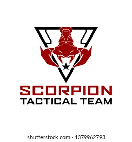 Scorpion Tactical military Logo design For military , Cross Fit, Gym, Game Club, military, tactical, Armory, etc