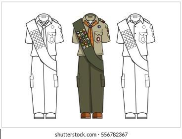 Scout Uniform Images, Stock Photos & Vectors | Shutterstock