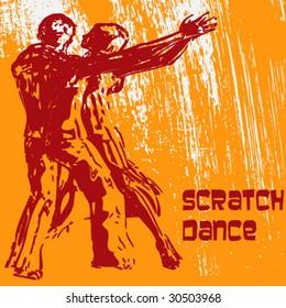 Scratch Dance Background