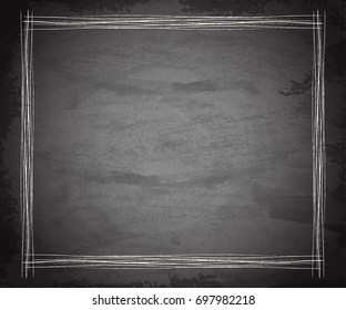 Scratch grunge gray texture background. Vector illustration