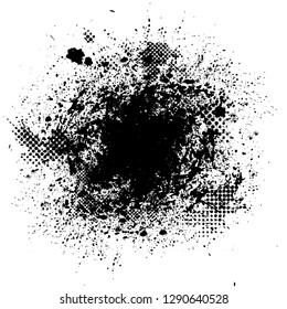 Scratch Grunge Urban Background.Texture Vector.Dust Overlay Distress Grain ,Simply Place illustration over any Object to Create grungy Effect .abstract,splattered , dirty, tire track for your design.