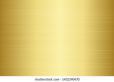 Scratched metal chrome gold texture vector icon set. Shiny brushed vector metallic gradient. Grunge golden background for banner, label, medal, button. Gold abstract chrome gradient collection