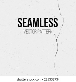 Scratched seamless vector pattern