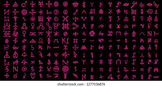 Screen with the code of alternative fiction, sci-fi alien computer symbols. Artificial intelligence language or Quantum computers. Non binary. Vector.