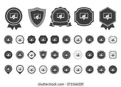 screen monitor  icon