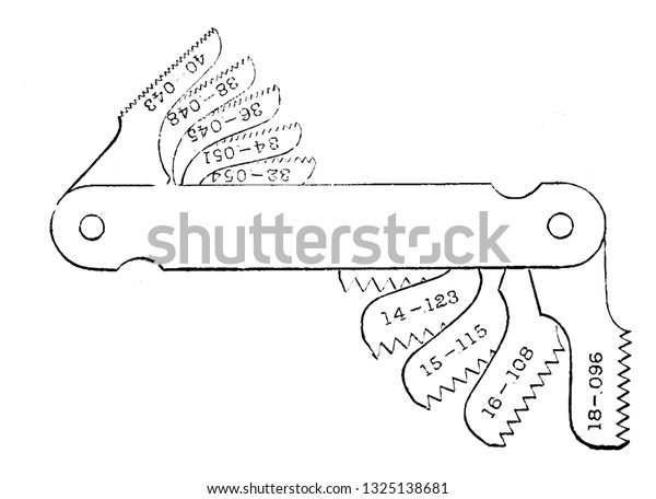 Screw Pitch Helical Structure Used Convert Stock Vector (Royalty