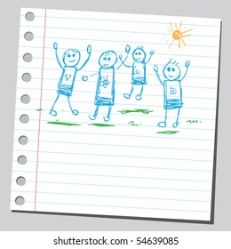 Scribble active kids