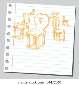 Scribble chair
