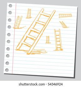 Scribble ladders