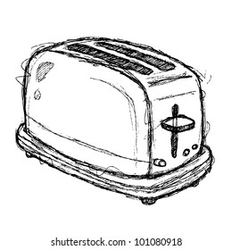 scribble series - toaster