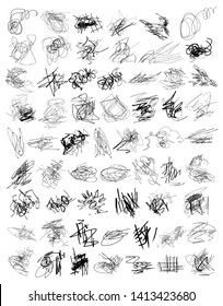 Scribble Vector Graphic Pack 01