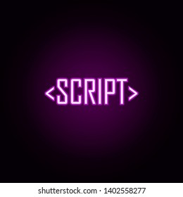 Neon Script Writing Images, Stock Photos & Vectors | Shutterstock