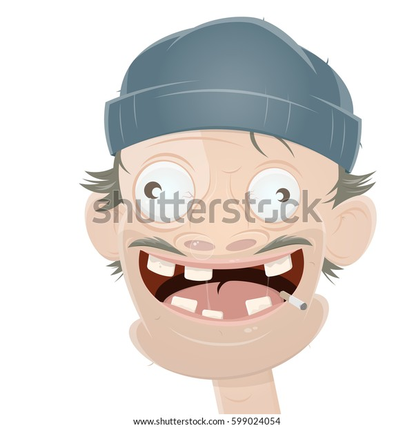 scruffy guy with hat
