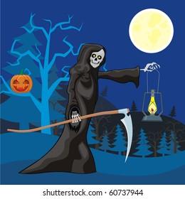 scytheman halloween night