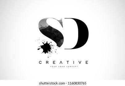 sd images stock photos vectors shutterstock https www shutterstock com image vector sd s d letter logo design 1160830765