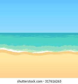 sea beach backdrop