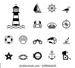 Sea & Coast - Iconset (Icons)