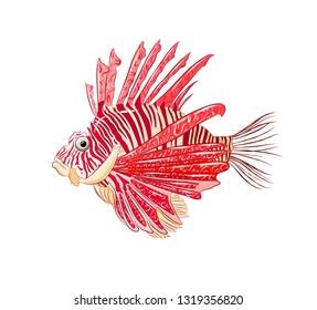sea fish lion poisonous