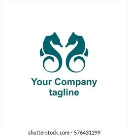 sea horse company logo